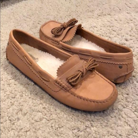 c3b50149c57 Ugg Meena Chestnut Leather Moccasin